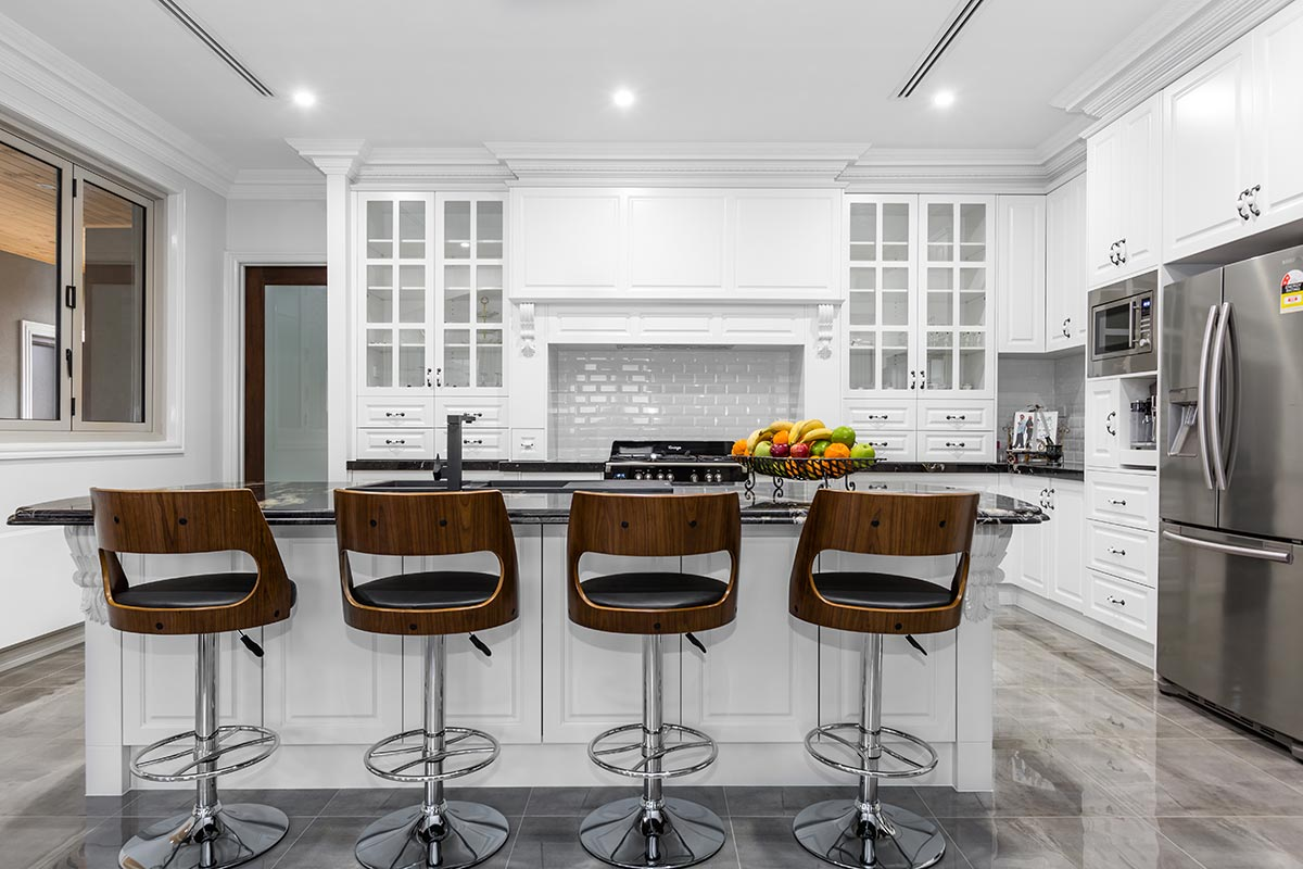 French Provincial Kitchen Stools Melbourne French